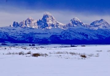 Teton Range from Ashton, Idaho