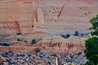Canyon Wall, Capitol Reef, Utah