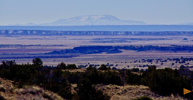 St Johns, Arizona with White Mountains
