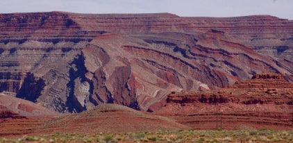 Near Mexican Hat, Utah